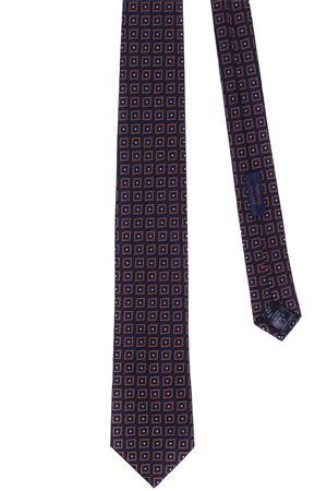 Cravatta jacquard in seta e cotone ALTEA | 5032289 | 19213481