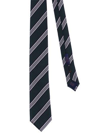 Cravatta riga in seta jacquard ALTEA | 5032289 | 19224162