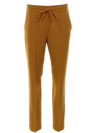 Jogging pants with drawstring