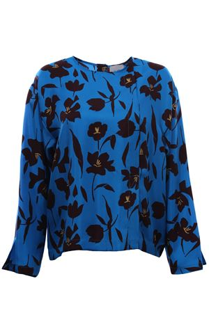 Silk tunic ALYSI | 5032279 | 159246A9046AZZURRO