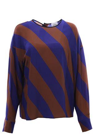 Silk tunic ALYSI | 5032279 | 159286A9201BLUROYAL