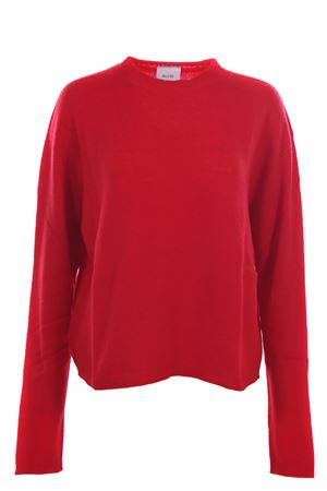 Wool and cashemere crew neck