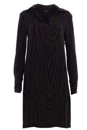 Calf lenght dress ANTONELLI | 5032276 | LEO+5B6612LT389BC339