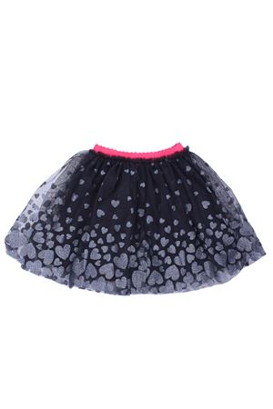 Tulle skirt with hearts
