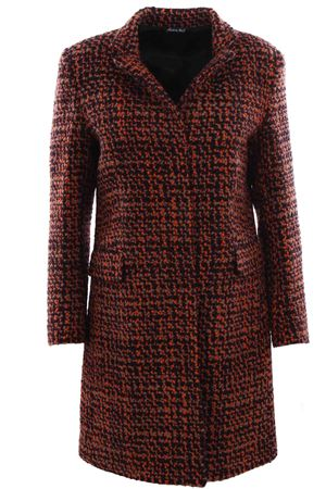 Cappotto in lana boucle