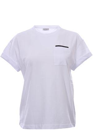 Crew neck t-shirt BRUNELLO CUCINELLI | 8 | M0T18BB200C0658