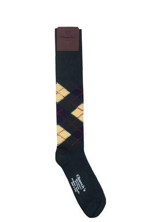 Cashmere and viscose socks CHURCH