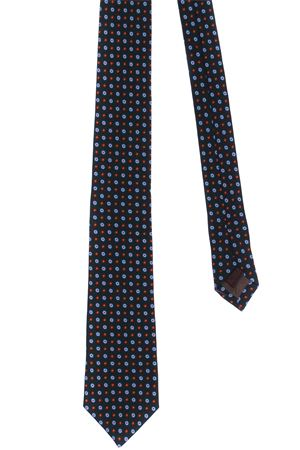Micro pattern wool tie