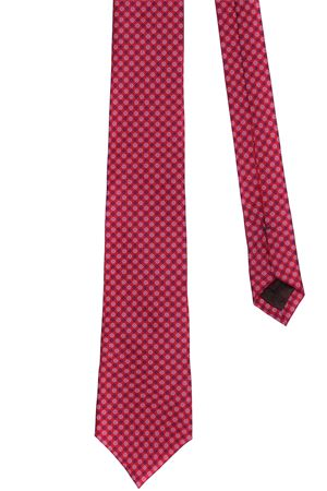 Micro pattern silk tie