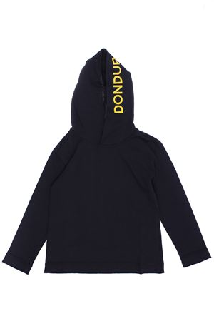 T-shirt with hood