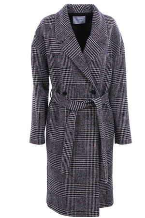 Double breasted coat with belt DONDUP | 5032278 | DJ281PX0068DXXXPDD447