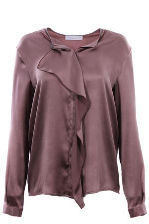 Silk shirt with ruffles FABIANA FILIPPI | 5032279 | CAD119W755A1122146