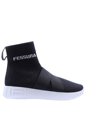Glittered slip on