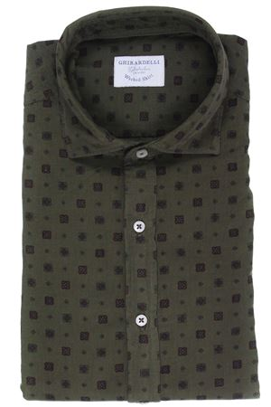 Printed velvet washed shirt GHIRARDELLI | 5032279 | TT7203235