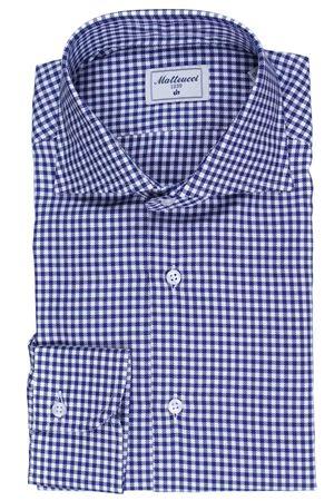 Cotton checked shirt MATTEUCCI 1939 | 5032279 | 06011851