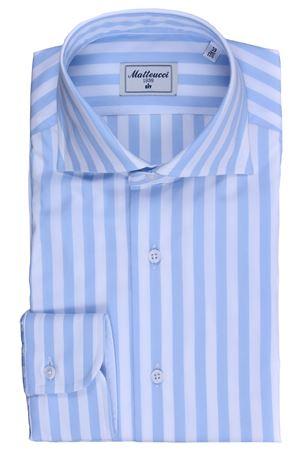 Striped cotton shirt MATTEUCCI 1939 | 5032279 | 06766251