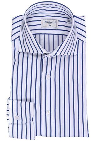 Striped cotton shirt MATTEUCCI 1939 | 5032279 | 07790250