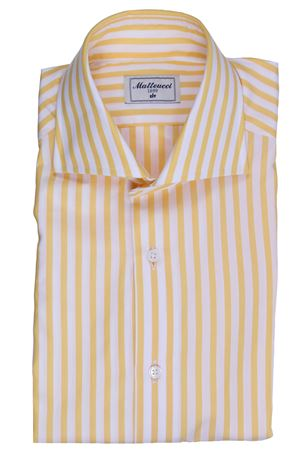 Striped cotton shirt MATTEUCCI 1939 | 5032279 | 08023221