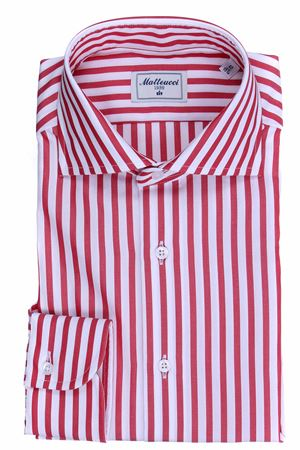 Striped cotton shirt MATTEUCCI 1939 | 5032279 | 08023231