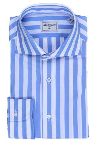 Striped cotton shirt MATTEUCCI 1939 | 5032279 | 08148253