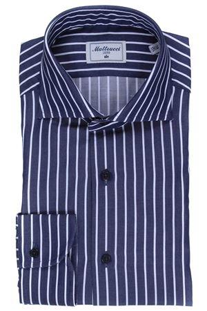Striped cotton shirt MATTEUCCI 1939 | 5032279 | 08422251
