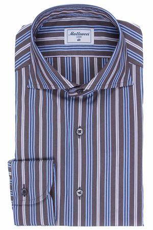 Striped cotton shirt MATTEUCCI 1939 | 5032279 | 08445270