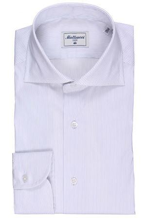 Striped cotton shirt MATTEUCCI 1939 | 5032279 | 08601250