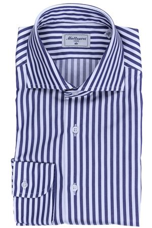 Striped cotton shirt MATTEUCCI 1939 | 5032279 | 56972014