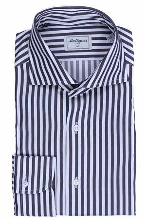Striped cotton shirt MATTEUCCI 1939 | 5032279 | 56972019