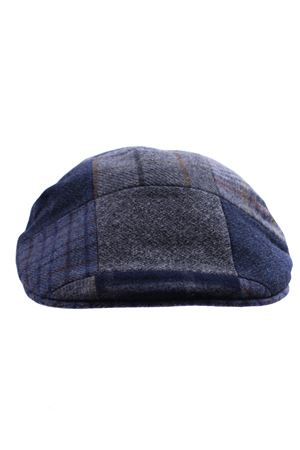 Wool patch cap