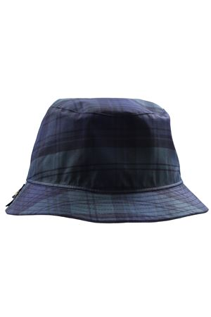 Rain hats check double face