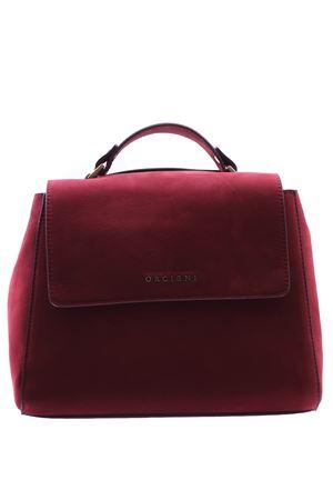 Small Sveva bag with suede shoulder strap ORCIANI | 5032281 | B01999LONGBEACHRUBINO