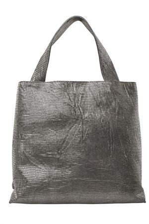 Medium leather bag ORCIANI | 5032281 | B02031SHADOWMOUSE