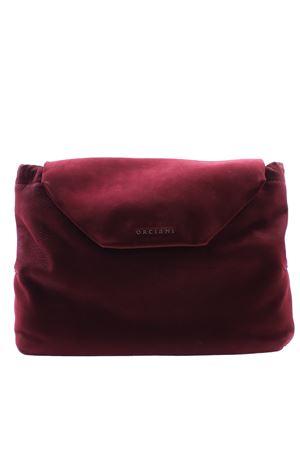 Medium suede bag ORCIANI   5032281   B02060LONGBEACHRUBINO