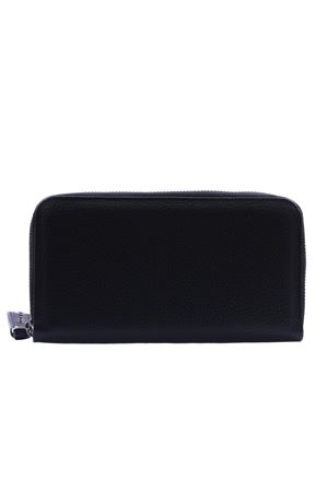 Large zipped leather wallet ORCIANI | 5032283 | SD0047MICRONNERO