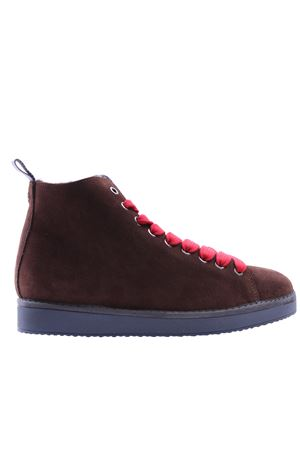 Polacco Roma in suede PANCHIC | 5032297 | P01W14002S3CHOCOLATELLOLLIPOP