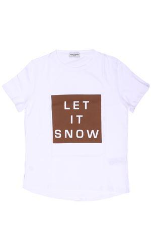 T-shirt con stampa in cotone PAOLO PECORA | 8 | PP1957BIANCO