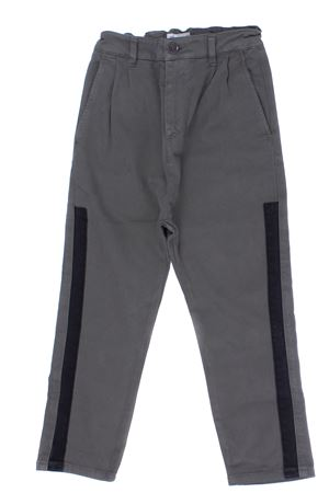 Cotton pants PAOLO PECORA | 5032272 | PP1993MILITARE