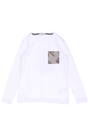 T-shirt with pocket PAOLO PECORA | 8 | PP2012BIANCO