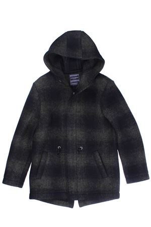 Wool outerwear with hood PAOLO PECORA | 5032282 | PP2029MILITARE