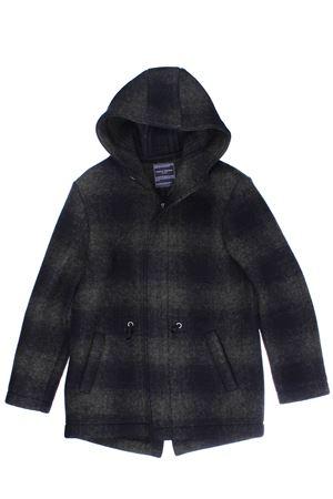 Giaccone in lana con cappuccio PAOLO PECORA | 5032282 | PP2029MILITARE