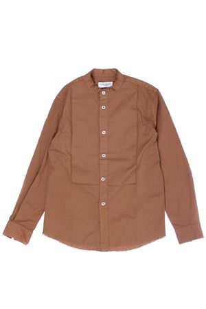 Camicia coreana in cotone PAOLO PECORA | 5032279 | PP2070BISCOTTO