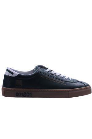 Leather sneakers PRO01JECT | 20000049 | PRJ1001DARK GREEN