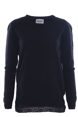 Crew neck with top
