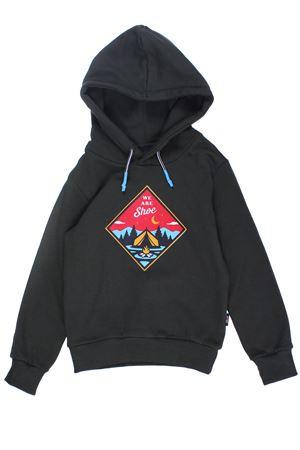 Sweatshirt with hood SHOE | -161048383 | F9CARLJ0633ARMY