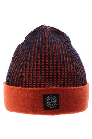 Two-tone ribbed cap