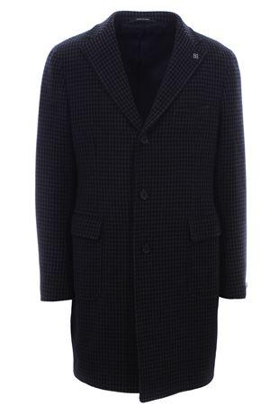Cappotto in cotone e lana piede de poule TAGLIATORE | 5032278 | CFBMM3W77FIC196B1269