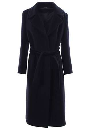 Coat with belt