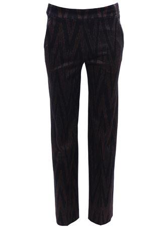 Pants with lurex effect VIA MASINI 80 | 5032272 | VIAANCONAA19M624MV682