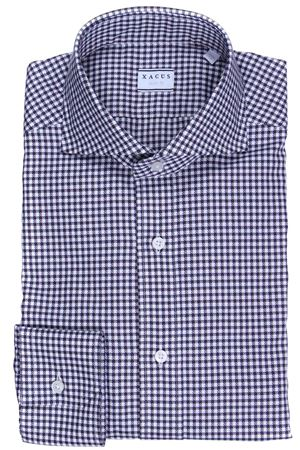 Houndstooth cotton shirt